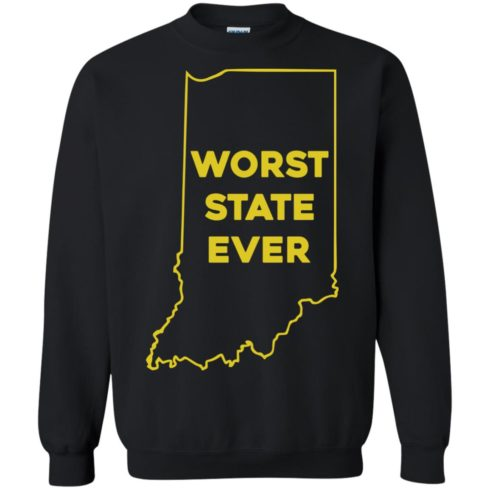 image 1053 490x490px Indiana Worst State Ever Shirt
