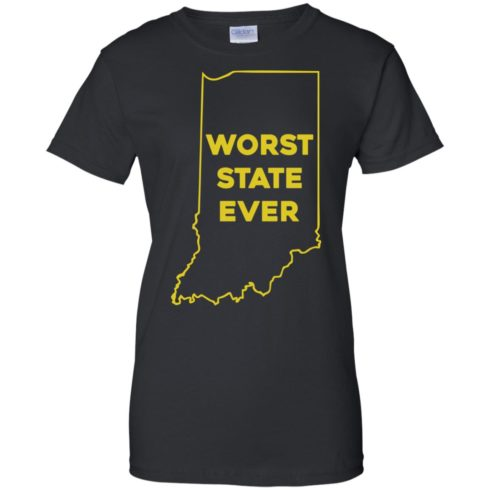 image 1055 490x490px Indiana Worst State Ever Shirt
