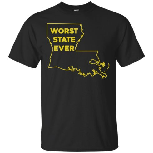 image 1057 490x490px Louisiana Worst State Ever T Shirts, Hoodies, Sweater