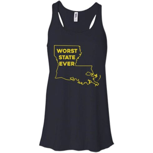 image 1060 490x490px Louisiana Worst State Ever T Shirts, Hoodies, Sweater