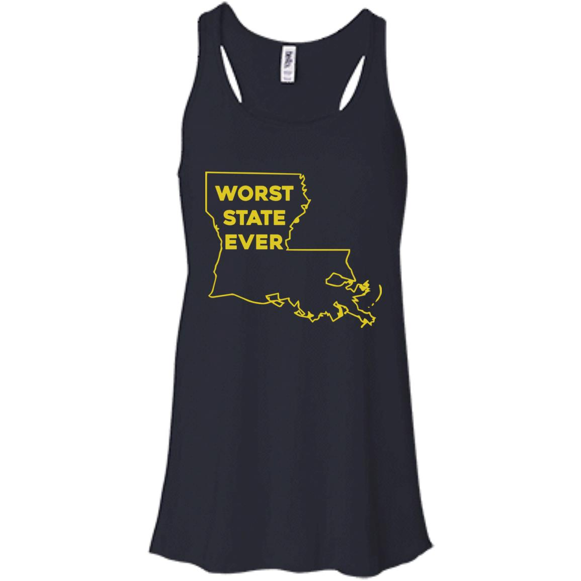 image 1060px Louisiana Worst State Ever T Shirts, Hoodies, Sweater