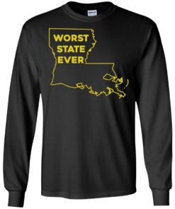 image 1061 247x296px Louisiana Worst State Ever T Shirts, Hoodies, Sweater