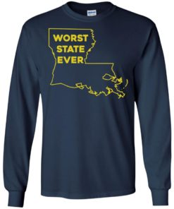 image 1062 247x296px Louisiana Worst State Ever T Shirts, Hoodies, Sweater
