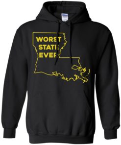 image 1063 247x296px Louisiana Worst State Ever T Shirts, Hoodies, Sweater