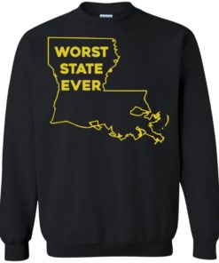 image 1065 247x296px Louisiana Worst State Ever T Shirts, Hoodies, Sweater