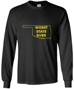 image 1073 247x296px Oklahoma Worst State Ever T Shirts, Hoodies, Tank Top