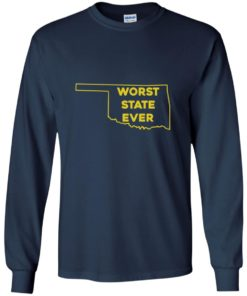 image 1074 247x296px Oklahoma Worst State Ever T Shirts, Hoodies, Tank Top