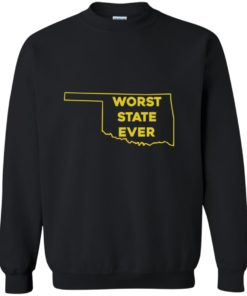 image 1077 247x296px Oklahoma Worst State Ever T Shirts, Hoodies, Tank Top