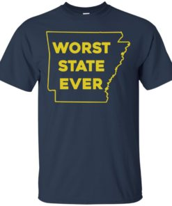 image 1082 247x296px Arkansas Worst State Ever T Shirts, Hoodies, Tank Top Available