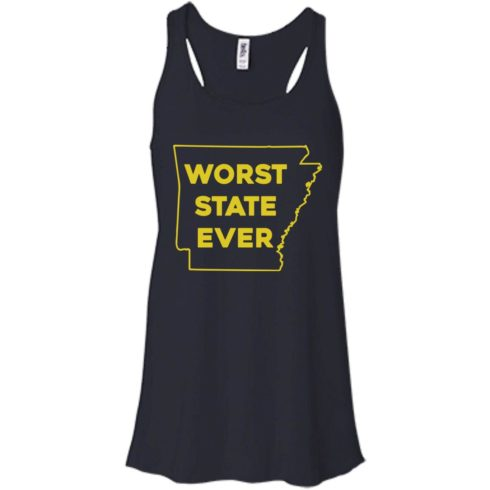 image 1084 490x490px Arkansas Worst State Ever T Shirts, Hoodies, Tank Top Available