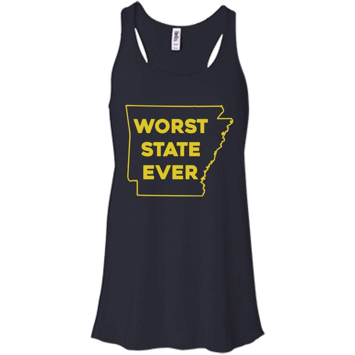 image 1084px Arkansas Worst State Ever T Shirts, Hoodies, Tank Top Available