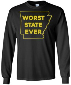 image 1085 247x296px Arkansas Worst State Ever T Shirts, Hoodies, Tank Top Available