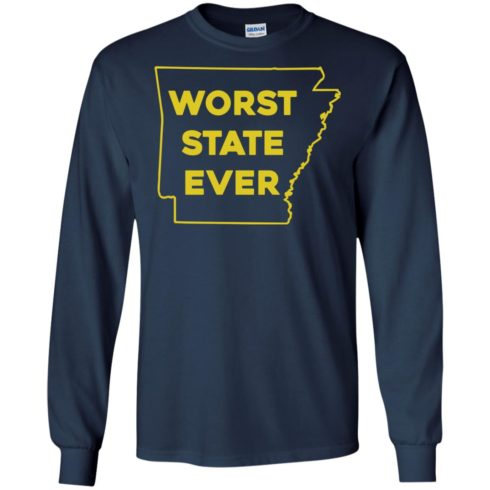 image 1086 490x490px Arkansas Worst State Ever T Shirts, Hoodies, Tank Top Available