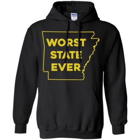 image 1087 490x490px Arkansas Worst State Ever T Shirts, Hoodies, Tank Top Available