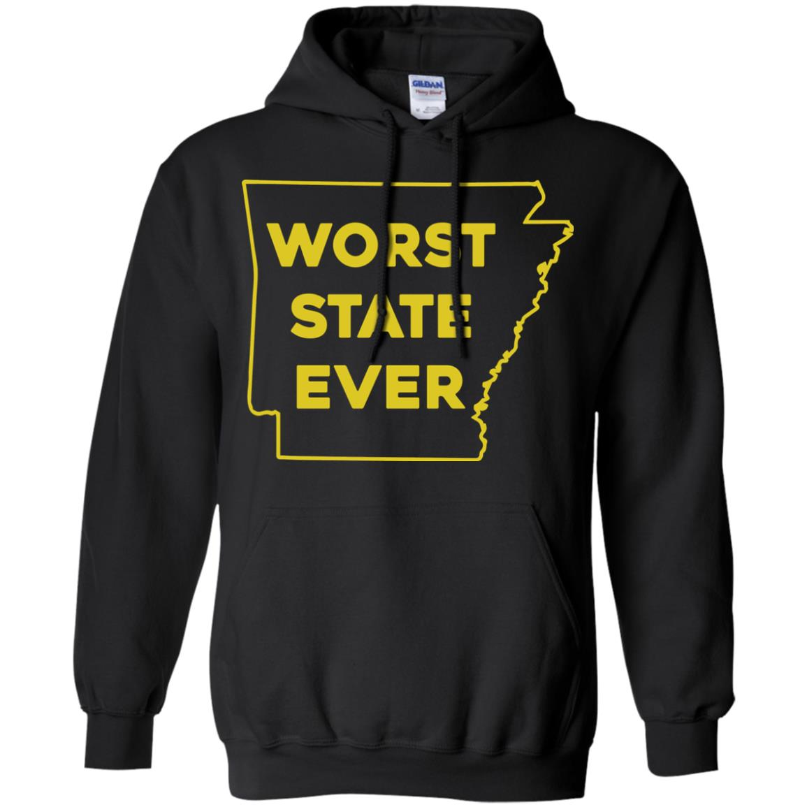 image 1087px Arkansas Worst State Ever T Shirts, Hoodies, Tank Top Available