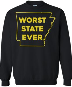 image 1089 247x296px Arkansas Worst State Ever T Shirts, Hoodies, Tank Top Available