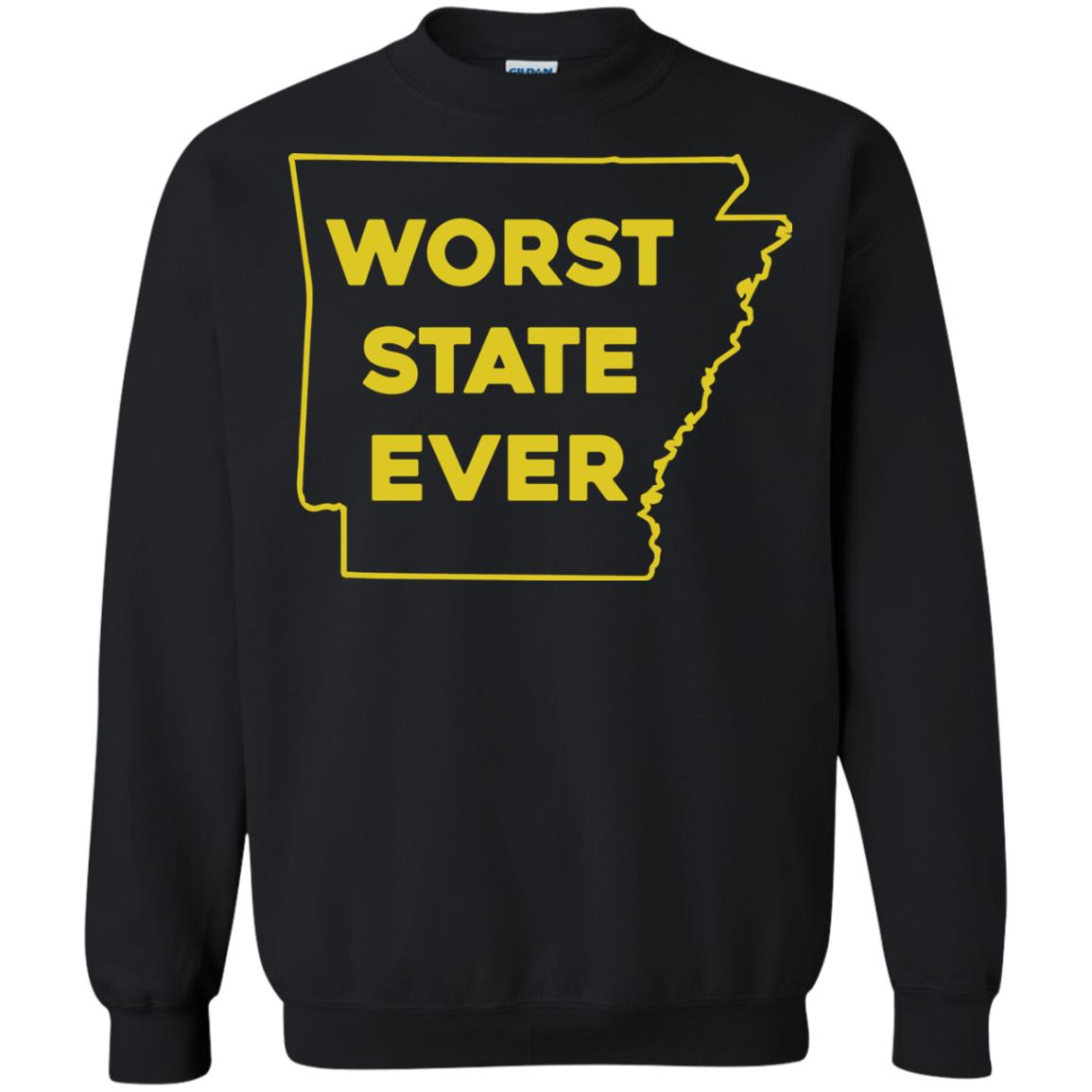 image 1089px Arkansas Worst State Ever T Shirts, Hoodies, Tank Top Available