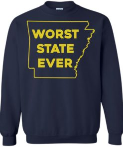 image 1090 247x296px Arkansas Worst State Ever T Shirts, Hoodies, Tank Top Available