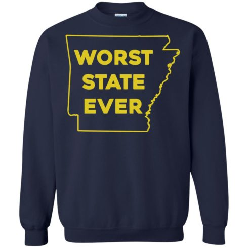 image 1090 490x490px Arkansas Worst State Ever T Shirts, Hoodies, Tank Top Available