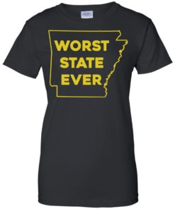 image 1091 247x296px Arkansas Worst State Ever T Shirts, Hoodies, Tank Top Available