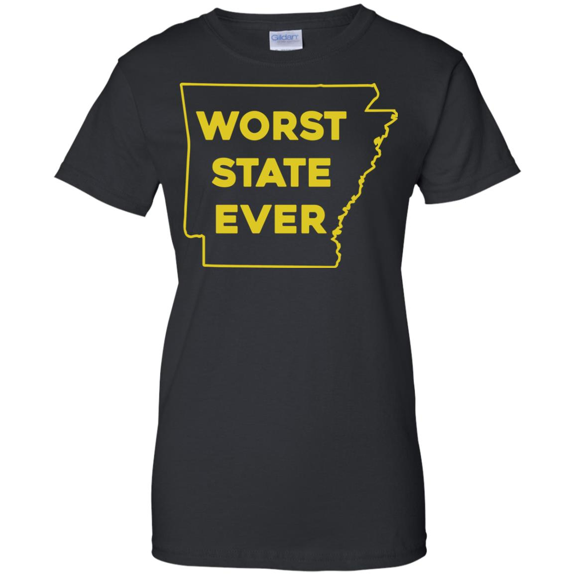 image 1091px Arkansas Worst State Ever T Shirts, Hoodies, Tank Top Available