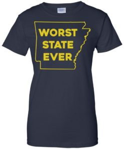 image 1092 247x296px Arkansas Worst State Ever T Shirts, Hoodies, Tank Top Available