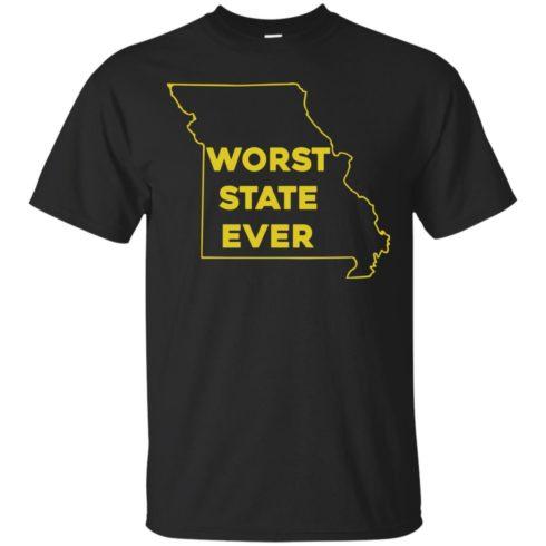 image 1093 490x490px Missouri Worst State Ever T Shirts, Hoodies, Tank Top