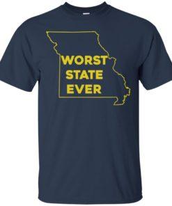 image 1094 247x296px Missouri Worst State Ever T Shirts, Hoodies, Tank Top