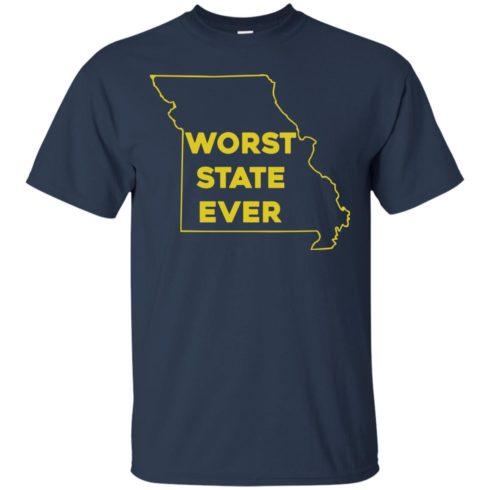 image 1094 490x490px Missouri Worst State Ever T Shirts, Hoodies, Tank Top