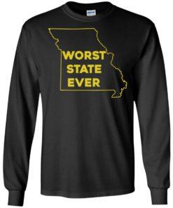 image 1097 247x296px Missouri Worst State Ever T Shirts, Hoodies, Tank Top