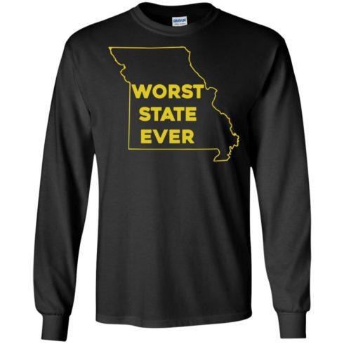 image 1097 490x490px Missouri Worst State Ever T Shirts, Hoodies, Tank Top