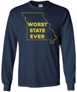 image 1098 247x296px Missouri Worst State Ever T Shirts, Hoodies, Tank Top
