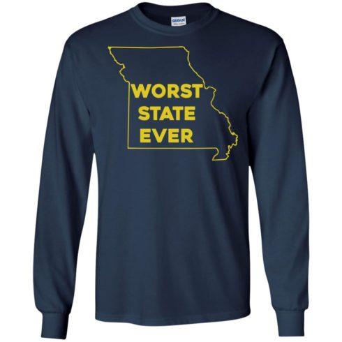 image 1098 490x490px Missouri Worst State Ever T Shirts, Hoodies, Tank Top