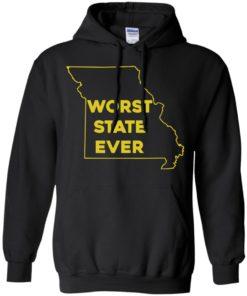 image 1099 247x296px Missouri Worst State Ever T Shirts, Hoodies, Tank Top