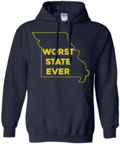 image 1100 247x296px Missouri Worst State Ever T Shirts, Hoodies, Tank Top
