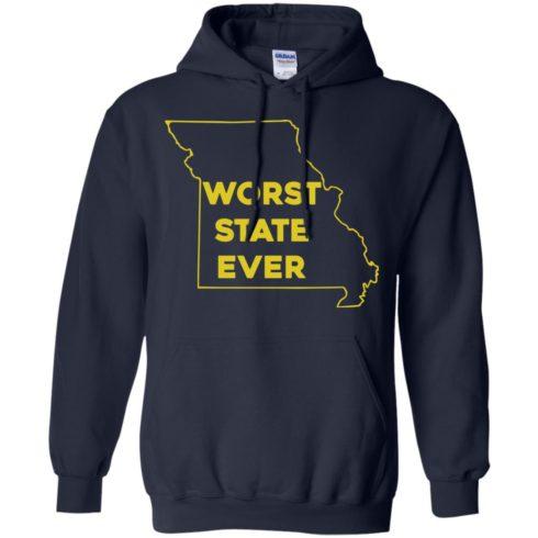 image 1100 490x490px Missouri Worst State Ever T Shirts, Hoodies, Tank Top