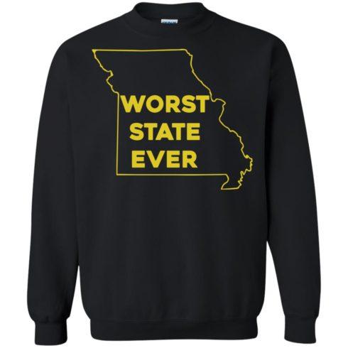 image 1101 490x490px Missouri Worst State Ever T Shirts, Hoodies, Tank Top