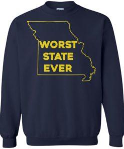 image 1102 247x296px Missouri Worst State Ever T Shirts, Hoodies, Tank Top