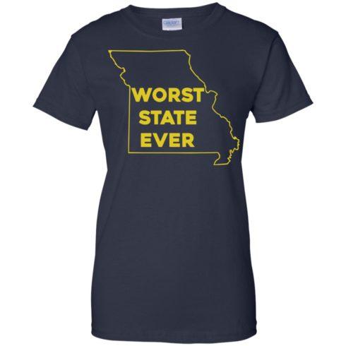 image 1104 490x490px Missouri Worst State Ever T Shirts, Hoodies, Tank Top