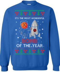 image 1137 247x296px Kim Jong Un: It's The Most Wonderful Bomb Of The Year Christmas Sweater