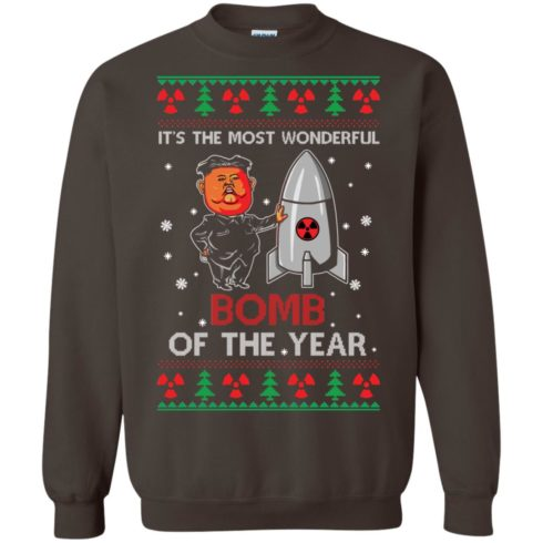 image 1138 490x490px Kim Jong Un: It's The Most Wonderful Bomb Of The Year Christmas Sweater