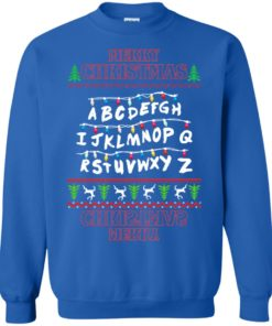 image 1153 247x296px Merry Christmas Stranger Things Alphabet Christmas Sweater