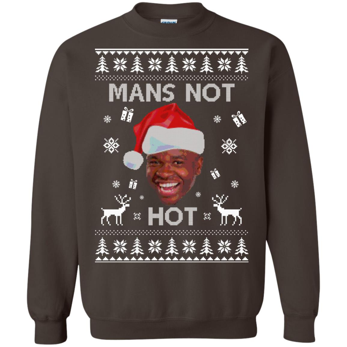 Roadman The Thing Go Skraaa Mans Not Hot Christmas Sweater