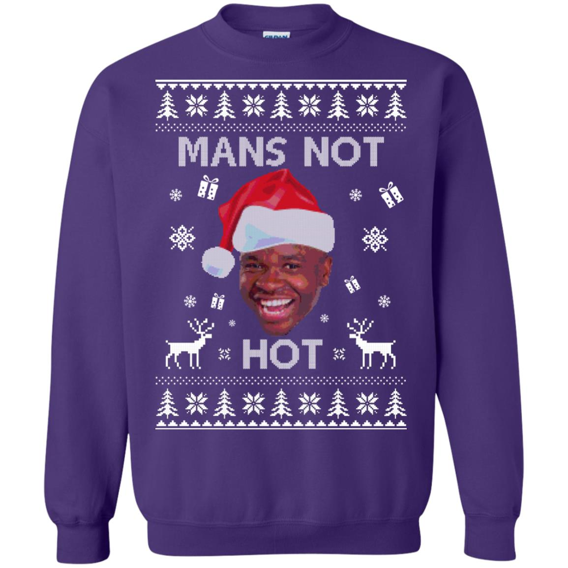image 1163px Roadman, The Thing Go Skraaa Mans Not Hot Christmas Sweater