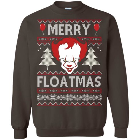 image 1178 490x490px IT Pennywise Merry Floatmas Christmas Sweater