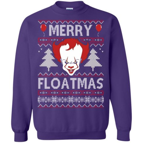 image 1179 490x490px IT Pennywise Merry Floatmas Christmas Sweater