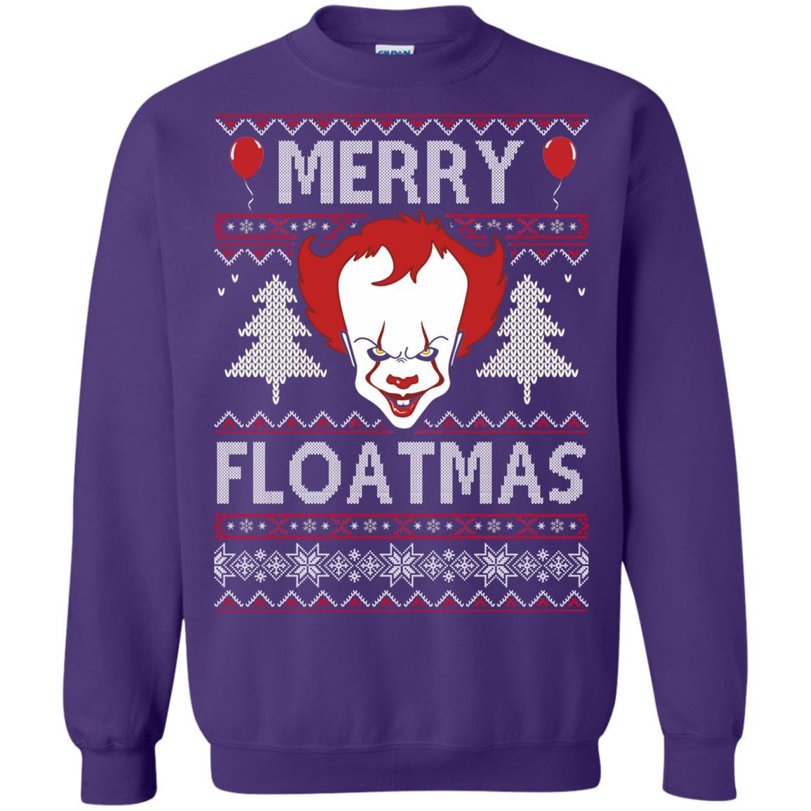 image 1179px IT Pennywise Merry Floatmas Christmas Sweater