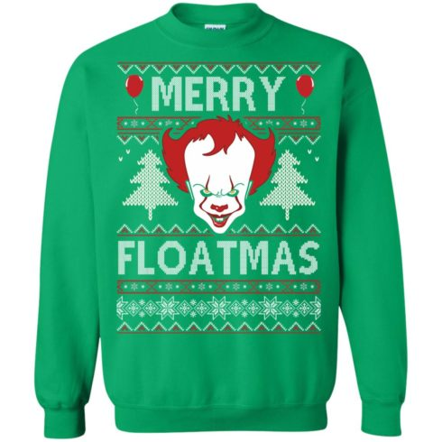 image 1180 490x490px IT Pennywise Merry Floatmas Christmas Sweater