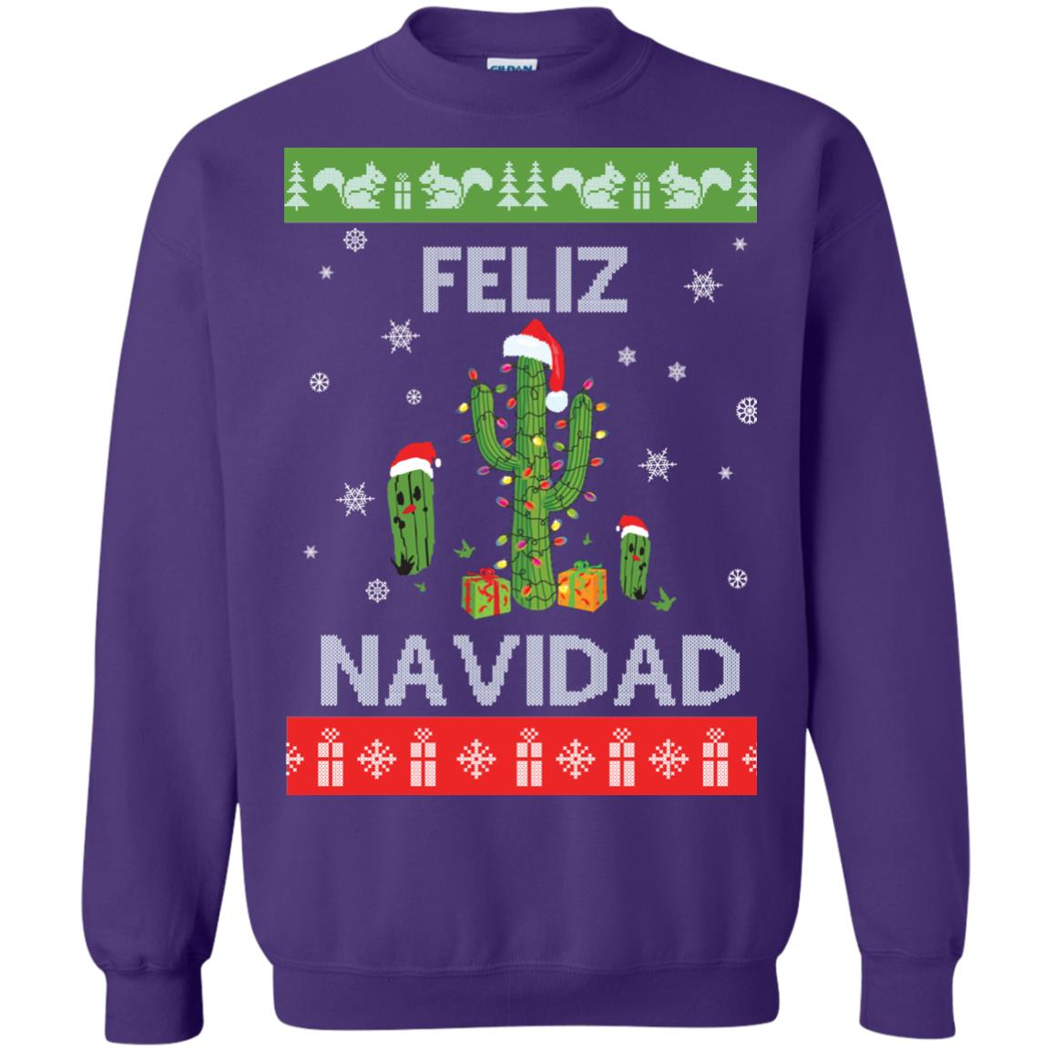 image 124px Feliz Navidad Tacky Christmas Sweater