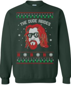 image 128 247x296px Lebowski The Due Abides Christmas Sweater